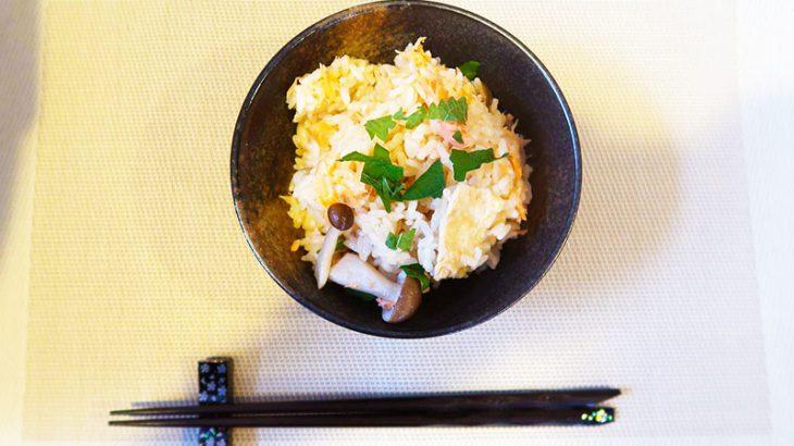 管理栄養士監修 夏に身体をリラックスさせる簡単レシピ第2弾 ~スイッチ一つで簡単に作れる鮭の炊き込みご飯